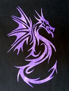 *This elegant and easy Dragon applique pattern is the perfect touch for any quilting project. Give your quilt a little extra flare with this Quilt Block Patterns, Applique Patterns, Applique Quilts, Applique Design, Applique Templates, Silhouette Dragon, Quilting Projects, Quilting Designs, Easy Dragon Drawings
