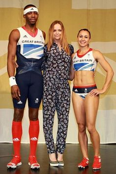 STELLA MCCARTNEY  unveiled her Adidas Team GB kit for the London 2012 Olympics this morning in a show at the Tower of London. Errrrrmmmmm....