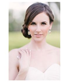 Subtle and Ethereal wedding makeup  Strike the perfect balance between sexy and sophisticated with a nude pout and heavily lined eyes.