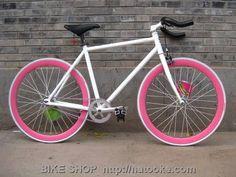 Fixie bike - want!