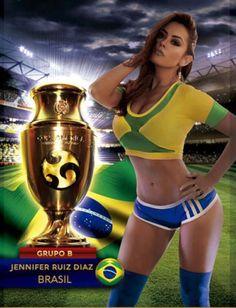 En fotos: estas son las sexis modelos del calendario de la Copa América Centenario