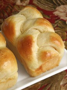 Mini Challah Loaves