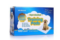 Puppy Training Pads for Dogs 100 count  22 x 23 Inch Dog Supplies Free Shipping #AllAbsorb