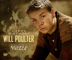 MAZE RUNNER: THE SCORCH TRIALS | Official Movie Site | 2015 Happy birthday Will Poulter!!! January 28th