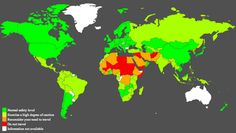Australian citizen world travel advice - but apparently they have no information about risky travel within their own country - via @amazingmaps