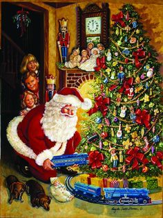 Shop for A Lionel Christmas Eve and other Sunsout jigsaw puzzles at SeriousPuzzles.com.