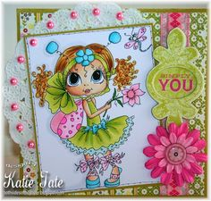 Both Sides of the Paper: Simply You - My Besties - Sherri Baldy Image Card