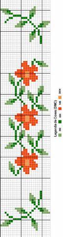 Brilliant Cross Stitch Embroidery Tips Ideas. Mesmerizing Cross Stitch Embroidery Tips Ideas. Cross Stitch Bookmarks, Cross Stitch Borders, Cross Stitch Flowers, Cross Stitch Charts, Cross Stitch Designs, Cross Stitching, Cross Stitch Embroidery, Embroidery Patterns, Cross Stitch Patterns