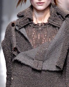 Vivienne Westwood Fall 2013  ?frostflower lace sweater