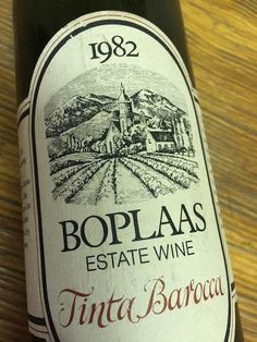 Boplaas Touriga Red Wine receives top score