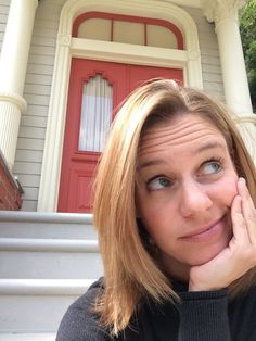"""Just hanging out, waiting for Deej and Steph. Andrea Barber, Full House Memes, Fuller House Cast, Jennifer Aniston Style, Becky G, Celebs, Celebrities, Nicki Minaj, In Hollywood"