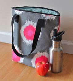 Zaaberry insulated lunch bag tutorial