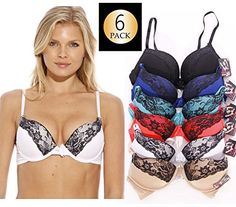 Just Intimates Bras for Women - Petite to Plus Size/ Full Figure (Pack of - Fantasy Lingerie Shop Full Figured, Latest Fashion Trends, Push Up, Plus Size, Petite Size, Fashion Lingerie, Women's Fashion, Women's Bras, Garter Belts