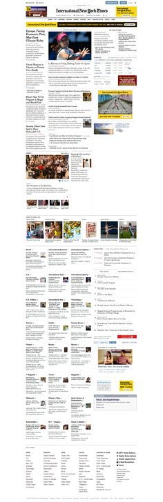 NYTimes.com   The New York Times  - Homepage