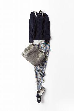 Kyoko Kikuchi's Closet 60 Fashion, Japan Fashion, Daily Fashion, Womens Fashion, Simple Outfits, Chic Outfits, Fashion Outfits, Casual Chic, Creations