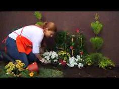 Ejemplo de pequeños jardines y patios decorados Video 3 de 3 - YouTube