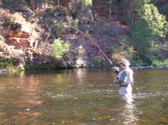 Fly fishing the Frying Pan River in the Fall...so nice.