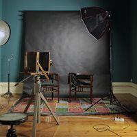 A nova sala de retrato quase pronta!