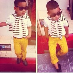 A stylish kid!!!