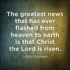 ~ Billy Graham