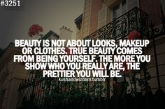Beauty comes from within