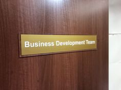trimup your doors with a smart acrylic door signs from 11 office door signs for your business