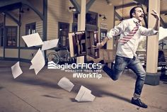 #WorkTip: Always arrive at #work early!  Don't #stress yourself by rushing through #traffic & skipping your #morning #coffee run! #agileoffices #worktip