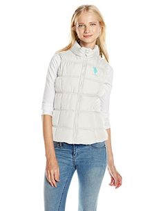 U.S. Polo Assn. Junior's Basic Bubble Vest *** Check out the image by visiting the link.