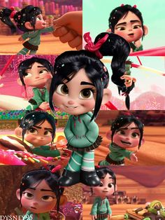 Vanellope-uber cute movie & characters from wreck it ralph