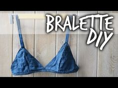 DIY Tutorial - Denim Bralette | Sybil Mae - YouTube