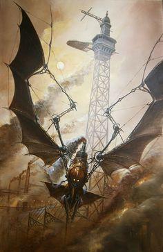 Didier Graffet: Steampunk