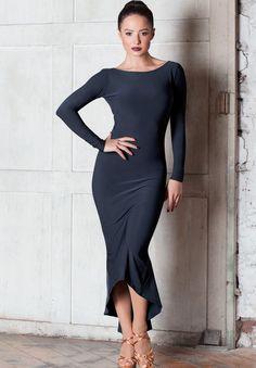 Chrisanne Clover Sapphire Latin Dress | Dancesport Fashion @ DanceShopper.com