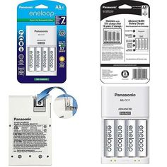 Panasonic Eneloop AA 2000 mAh NiMH Batteries with Charger, Batteries 073096902145 for sale online Solar Panel System, Panel Systems, Lead Acid Battery, Facebook Sign Up, Cell Phone Accessories, Charger, Storage, Ebay, Cases
