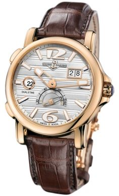 Ulysse Nardin GMT Big Date 42mm 246-55/60 RRP USD $22,200
