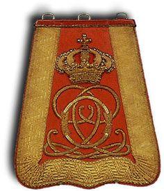 Sabretache del 7 rgt. ussari inglesi