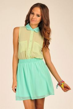 This dress from Necessary Clothing reminds me of a cupcake! I must have it.