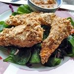 Peanut Butter Chicken Strips with a Pretzel Crust « Peanut Butter Recipes