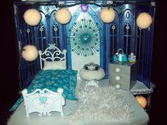 Abby Castle Second Floor - - OOAK Monster High Castle by Michele Tunstall, Ebay username:  BargainFancy