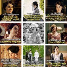 Mary Crawley <3 I love her directness and slight fierceness. except when she's kinda nasty.