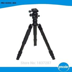 196.70$  Watch here - http://alizrp.worldwells.pw/go.php?t=32381367695 - W255C+B30 Carbon Fibre Professional Photo Tripod With Ball head Portable Travel DSLR Camera detachable Max Load to 8Kg 196.70$