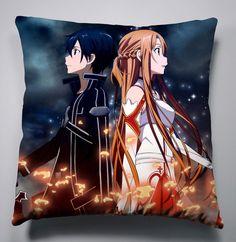 Neu Anime Sword Art Online Manga Kissen Sitzkissen Pillow 40x40CM COOL 023 in Sammeln & Seltenes, Comics, Manga & Anime | eBay