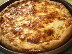 Greek Recipes, Desert Recipes, Cookie Dough Pie, Savory Tart, Quiche, Healthy Snacks, Deserts, Pizza, Beef