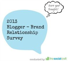 Blogger-Brand Relationship Research: 3 Reasons Why You Need to Participate - The Social Craft Complicated Relationship, Infographic, Social Media, Marketing, Thoughts, Writing, Craft, Blogging, Infographics