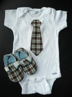 Oh my goodness. How adorable is this. Add a little vest and some jeans. He is set.