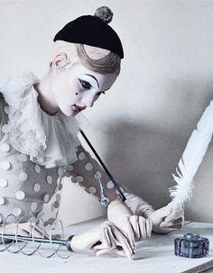 Kirsi Pyrhonen in 'Mechanical Dolls' shot by Tim Walker for Vogue Italia October 2011