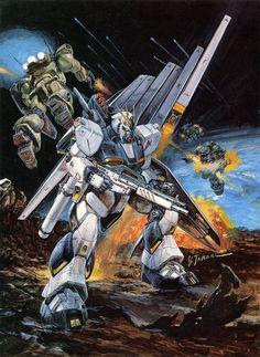 Gundam Official Artworks by Yoshiyuki Takani Arte Gundam, Gundam Wing, Gundam Art, 4k Ultra Hd Wallpapers, Techno, Mecha Suit, Japanese Robot, Gundam Wallpapers, Mecha Anime