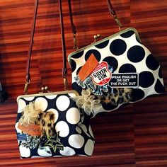 cheerful!! (@cheerful66handmade) | Instagram photos and videos Denim Bag, Handmade Bags, Cosmetic Bag, Purses And Bags, Cheer, Diy And Crafts, Coin Purse, Pouch, Shoulder Bag