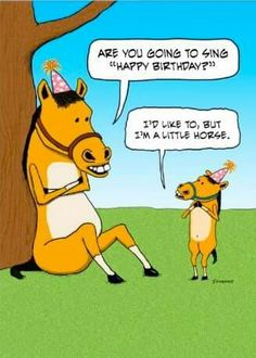 Funny Little Horse Birthday Card - Happy Birthday Funny - Funny Birthday meme - - Funny Little Horse Birthday Card The post Funny Little Horse Birthday Card appeared first on Gag Dad. Happy Birthday Horse, Birthday Wishes Funny, Singing Happy Birthday, Happy Birthday Sister, Happy Birthday Images, Happy Birthday Greetings, Birthday Messages, Birthday Memes, Funny Birthday Quotes