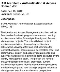 Be Sure To Check Out This Great Position As An Infrastructure