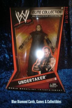 WWE Elite Collection Series 8 Undertaker MIP WWF WCW   #WWE